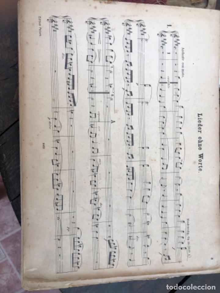 Partituras musicales: Antiguas partituras de piano - Foto 3 - 212292023