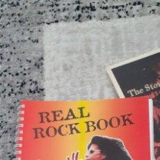 Partiture musicali: REAL ROCK BOOK 232 PÁGINAS PARTITURAS VARIADAS DE ROCK,HEAVY,BLUES,ETC. Lote 212475911