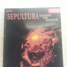 Partiture musicali: PARTITURAS SEPULTURA BENEATH THE REMAINS. Lote 213027666