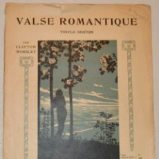 Partituras musicales: C. WORSLEY - TRIPLE BOSTON - MUSICAL EMPORIUM. Lote 213128908
