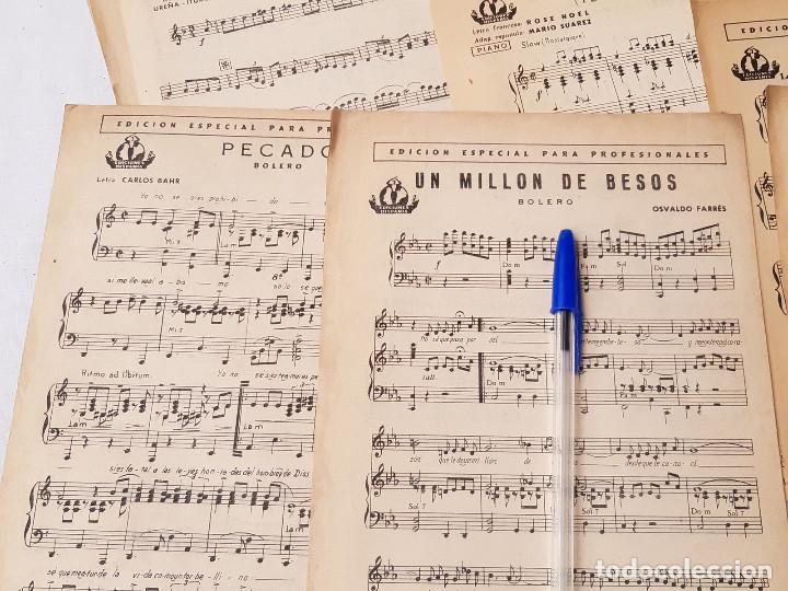 Partituras musicales: Lote de 16 partituras. Ediciones Hispania. Madrid. 1940-1950. Orquesta Radio Jazz. - Foto 4 - 213278905