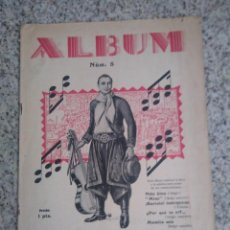Partituras musicales: ALBUM Nº 5. EL TANGO DE MODA. 1928. Lote 214353070