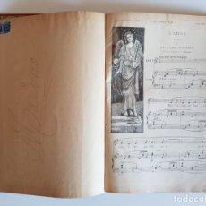 Partituras musicales: MÚSICA PARA PIANO. PRECIOSA ENCUADERNACIÓN DEL SUPLEMENTO MUSICAL DE L'ILLUSTRATION DE 1894. Lote 214377231