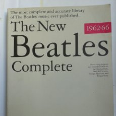 Partitions Musicales: THE BEATLES - THE NEW BEATLES COMPLETE - PARTITURAS CANCIONES. Lote 160337212