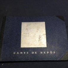 Partituras musicales: CANTS DE REPOS CANCIONES MANUSCRITAS MANUSCRITO SELECCION COPIADA A MANO CATALUNIA AÑOS 20 19X23,5CM. Lote 215039640