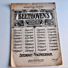 Partiture musicali: LIBRETO DE PARTITURAS VARIAS PARA PIANO - BEETHOVENS - 25 X 35.CM. Lote 235378690