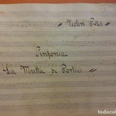 Partituras musicales: LOTE DE PARTITURAS MUSICALES. IGUALADA. VER FOTOS. Lote 216137005