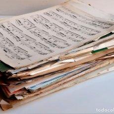 Partituras musicales: LOTE DE VARIOS LIBRETOS PARTITURAS SUELTAS VARIAS DE PIANO. Lote 218286076
