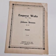 Partituras musicais: LIBRETO DE PARTITURAS VARIAS PARA PIANO. Lote 234536020
