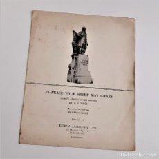 Partituras musicais: LIBRETO DE PARTITURAS VARIAS PARA PIANO. Lote 234535625