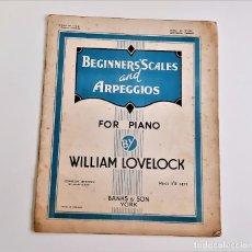 Partituras musicais: LIBRETO DE PARTITURAS VARIAS PARA PIANO. Lote 234535365