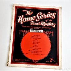 Partituras musicais: LIBRETO DE PARTITURAS VARIAS PARA PIANO. Lote 234535260