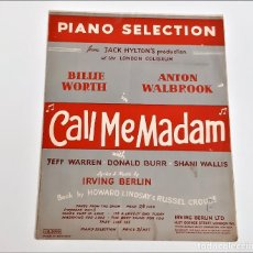 Partituras musicais: LIBRETO DE PARTITURAS VARIAS PARA PIANO. Lote 234533895