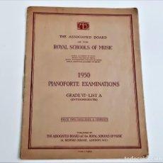 Partituras musicais: LIBRETO DE PARTITURAS VARIAS PARA PIANO. Lote 234533510