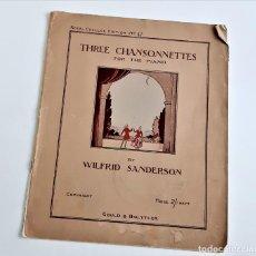 Partituras musicais: LIBRETO DE PARTITURAS VARIAS PARA PIANO. Lote 253161905