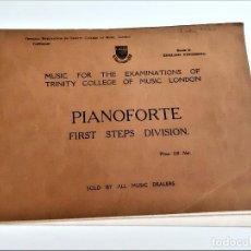 Partituras musicais: LIBRETO DE PARTITURAS VARIAS PARA PIANO. Lote 234530915