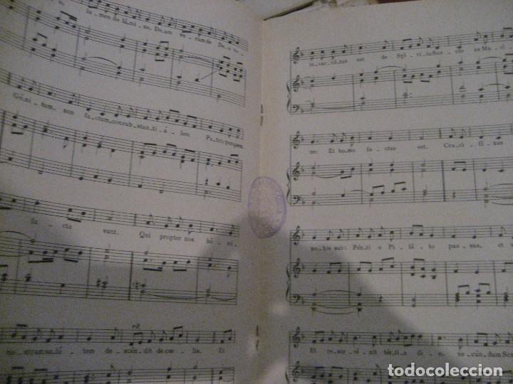 Partituras musicales: gran lote antiguas partituras musica sacra religiosa . lauda sion emporium . foment pietat - Foto 11 - 220858513