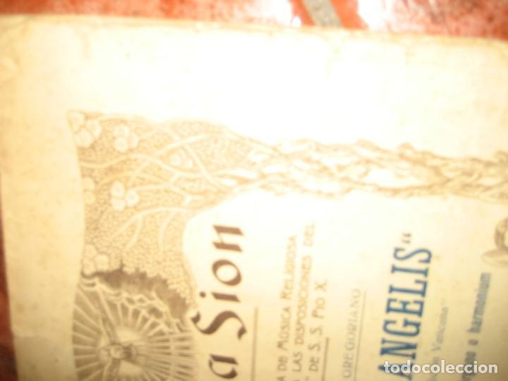 Partituras musicales: gran lote antiguas partituras musica sacra religiosa . lauda sion emporium . foment pietat - Foto 15 - 220858513