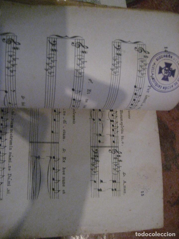 Partituras musicales: gran lote antiguas partituras musica sacra religiosa . lauda sion emporium . foment pietat - Foto 17 - 220858513
