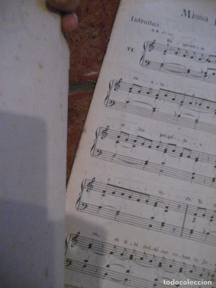 Partituras musicales: gran lote antiguas partituras musica sacra religiosa . lauda sion emporium . foment pietat - Foto 21 - 220858513
