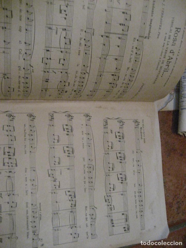 Partituras musicales: gran lote antiguas partituras musica sacra religiosa . lauda sion emporium . foment pietat - Foto 24 - 220858513