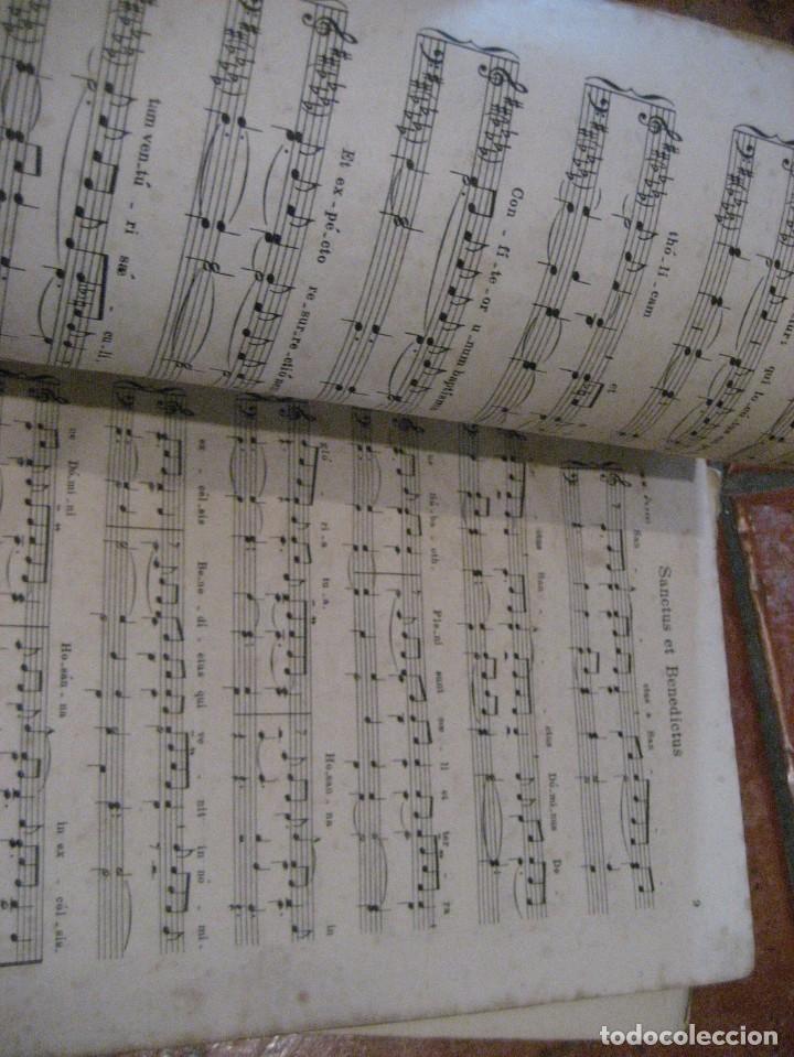 Partituras musicales: gran lote antiguas partituras musica sacra religiosa . lauda sion emporium . foment pietat - Foto 26 - 220858513