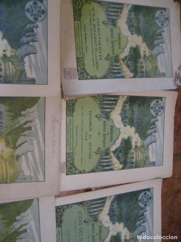 Partituras musicales: gran lote antiguas partituras musica sacra religiosa . lauda sion emporium . foment pietat - Foto 39 - 220858513