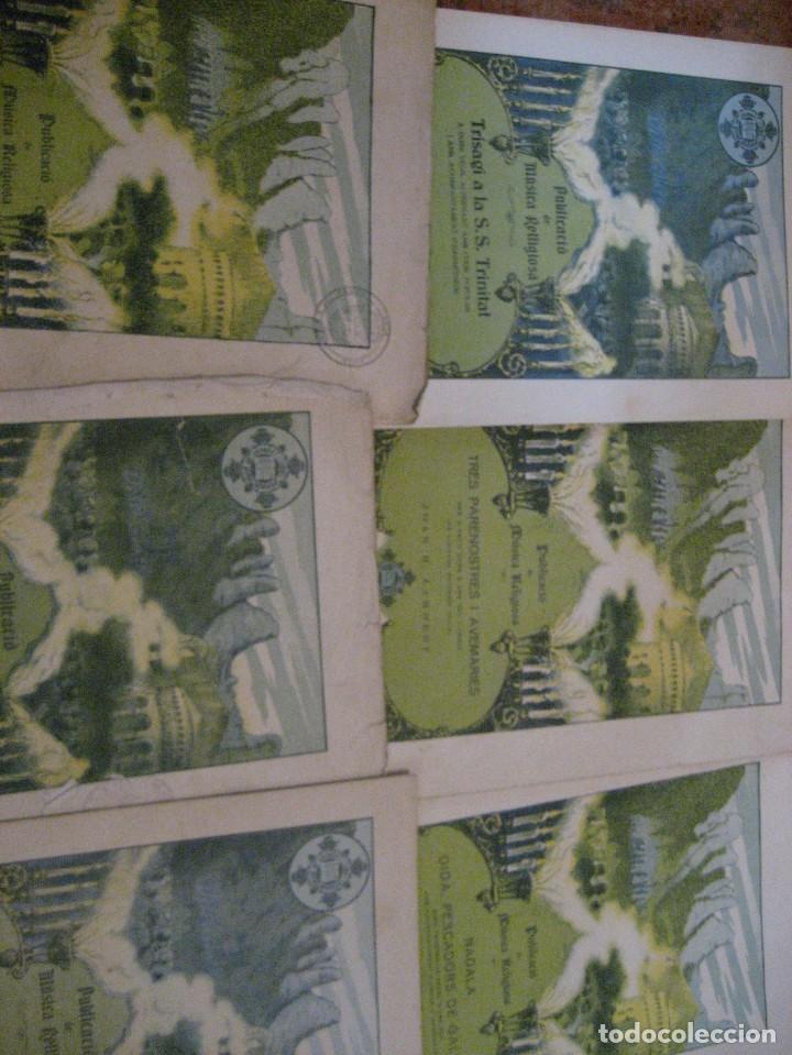 Partituras musicales: gran lote antiguas partituras musica sacra religiosa . lauda sion emporium . foment pietat - Foto 40 - 220858513