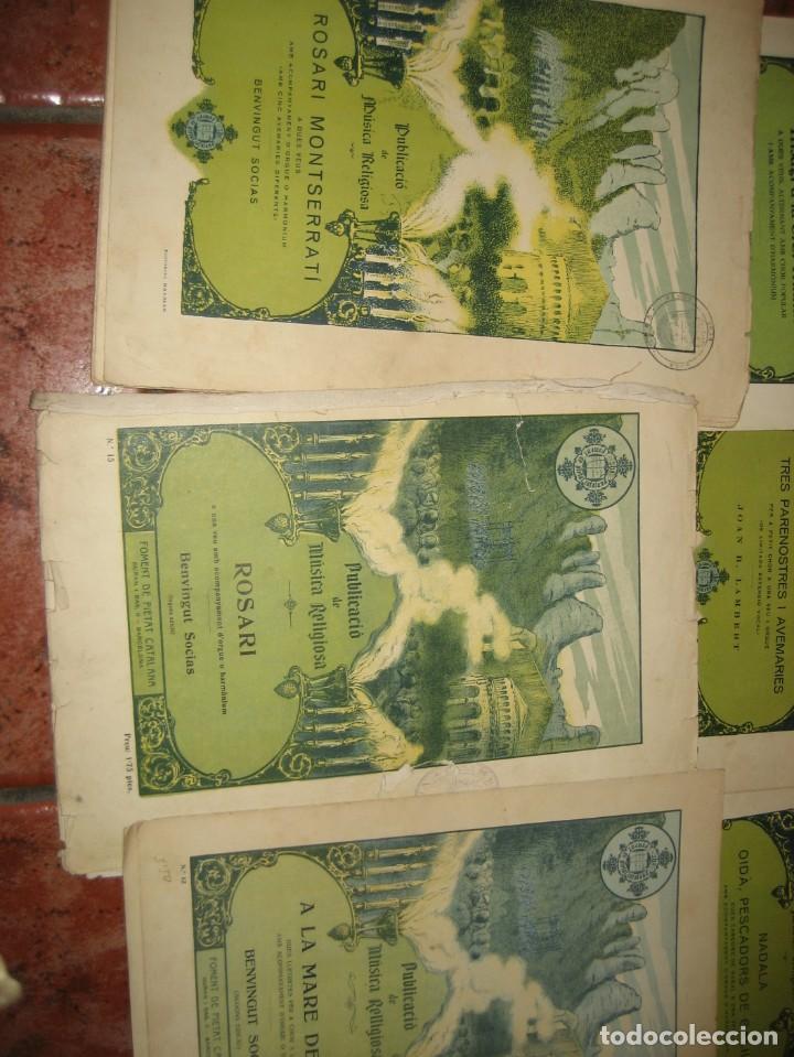 Partituras musicales: gran lote antiguas partituras musica sacra religiosa . lauda sion emporium . foment pietat - Foto 41 - 220858513
