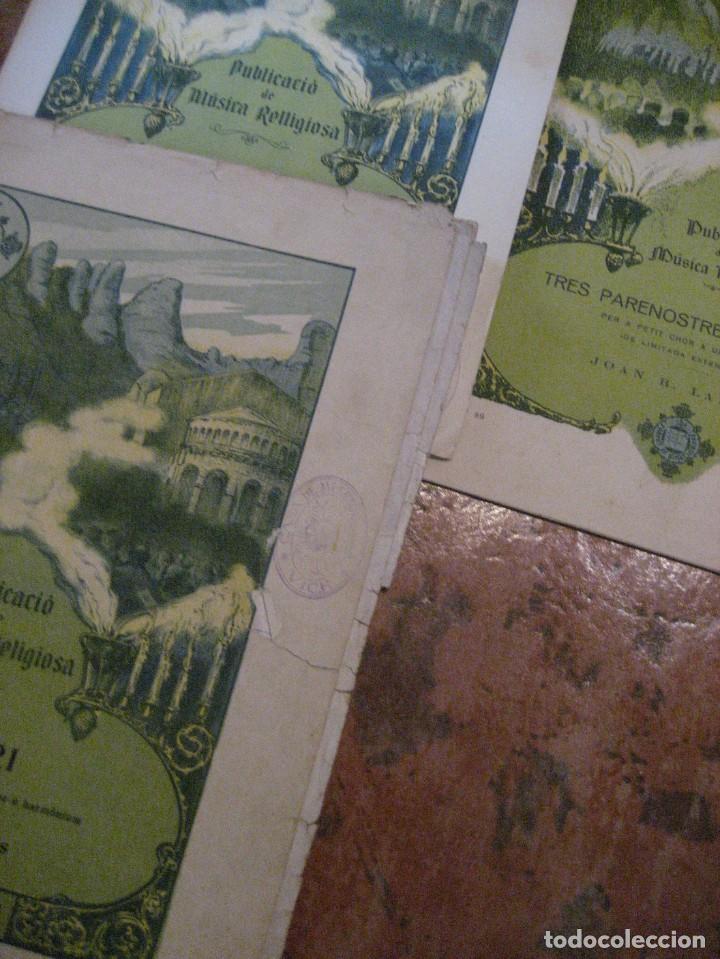 Partituras musicales: gran lote antiguas partituras musica sacra religiosa . lauda sion emporium . foment pietat - Foto 43 - 220858513