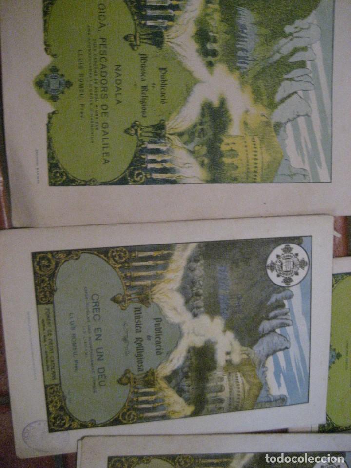 Partituras musicales: gran lote antiguas partituras musica sacra religiosa . lauda sion emporium . foment pietat - Foto 44 - 220858513