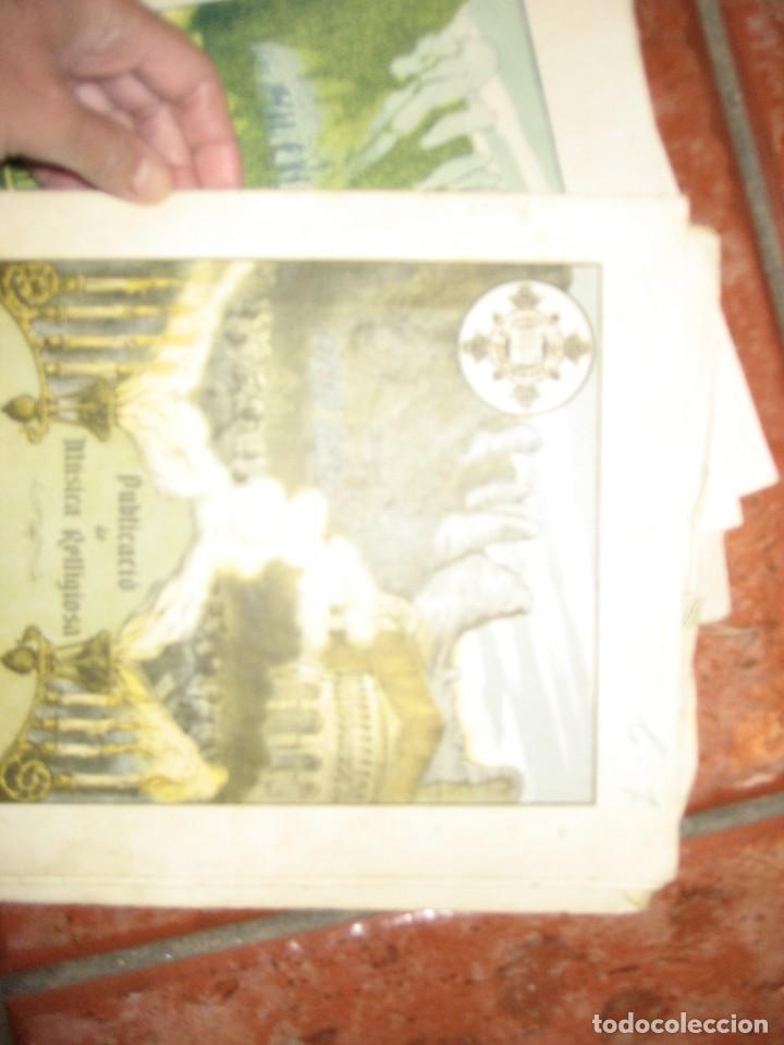 Partituras musicales: gran lote antiguas partituras musica sacra religiosa . lauda sion emporium . foment pietat - Foto 45 - 220858513