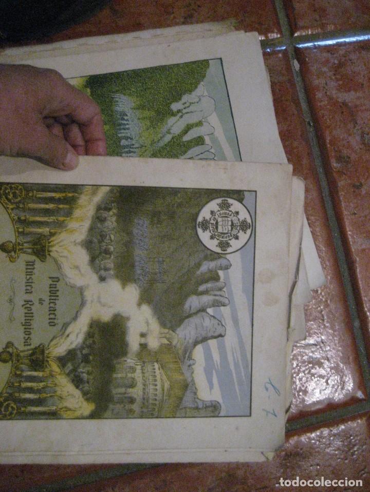 Partituras musicales: gran lote antiguas partituras musica sacra religiosa . lauda sion emporium . foment pietat - Foto 46 - 220858513