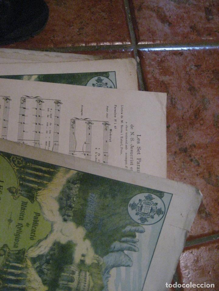 Partituras musicales: gran lote antiguas partituras musica sacra religiosa . lauda sion emporium . foment pietat - Foto 47 - 220858513