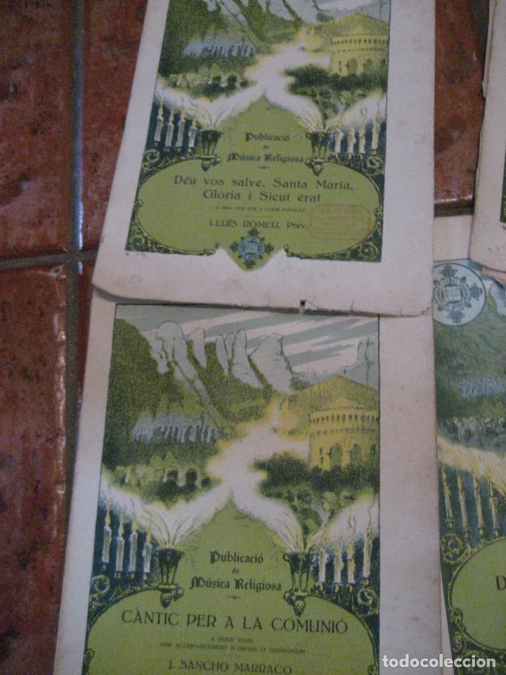 Partituras musicales: gran lote antiguas partituras musica sacra religiosa . lauda sion emporium . foment pietat - Foto 49 - 220858513