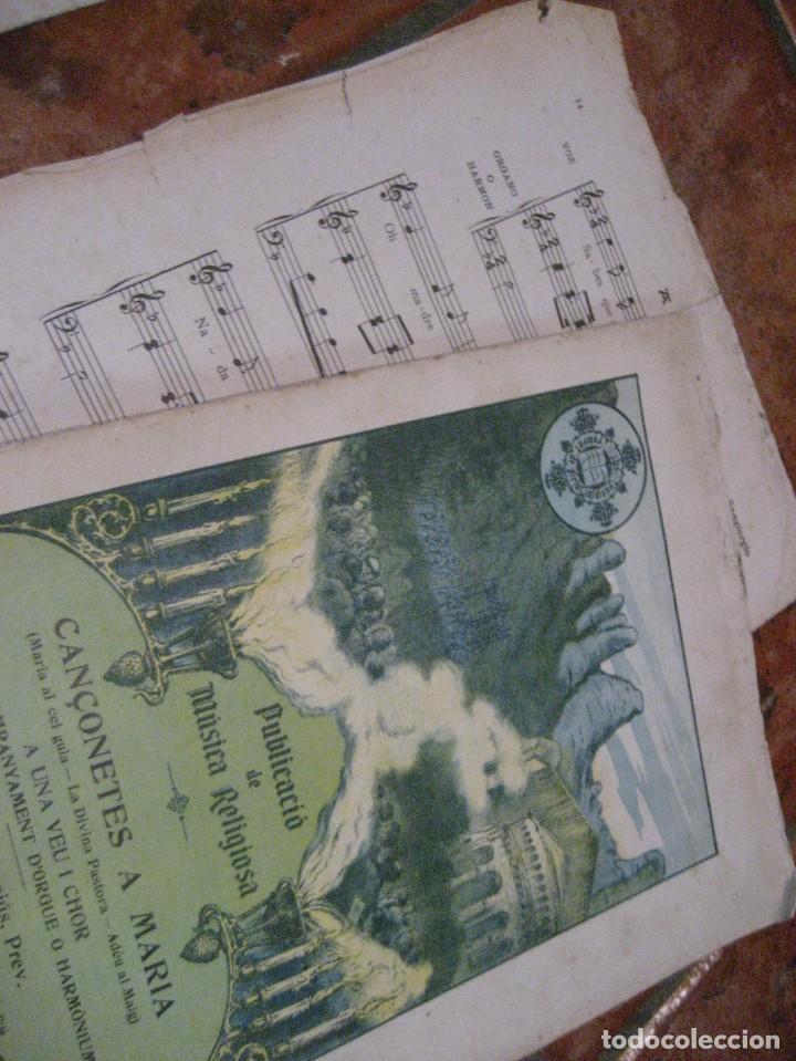 Partituras musicales: gran lote antiguas partituras musica sacra religiosa . lauda sion emporium . foment pietat - Foto 51 - 220858513