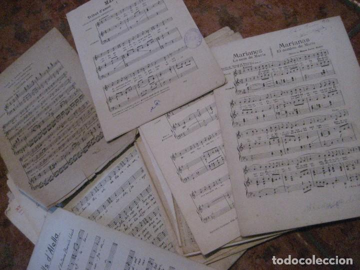 Partituras musicales: gran lote antiguas partituras musica sacra religiosa . lauda sion emporium . foment pietat - Foto 52 - 220858513