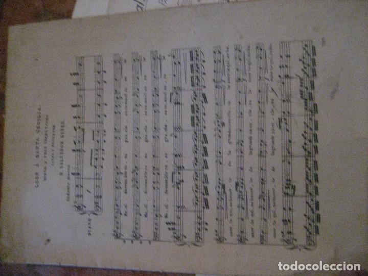 Partituras musicales: gran lote antiguas partituras musica sacra religiosa . lauda sion emporium . foment pietat - Foto 54 - 220858513