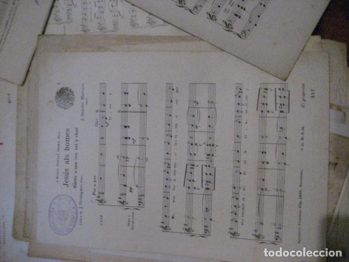Partituras musicales: gran lote antiguas partituras musica sacra religiosa . lauda sion emporium . foment pietat - Foto 55 - 220858513
