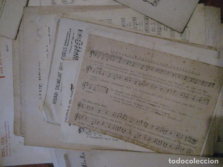Partituras musicales: gran lote antiguas partituras musica sacra religiosa . lauda sion emporium . foment pietat - Foto 56 - 220858513