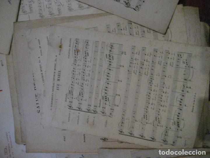 Partituras musicales: gran lote antiguas partituras musica sacra religiosa . lauda sion emporium . foment pietat - Foto 57 - 220858513