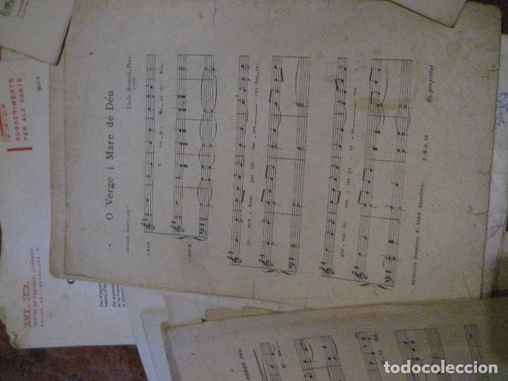 Partituras musicales: gran lote antiguas partituras musica sacra religiosa . lauda sion emporium . foment pietat - Foto 60 - 220858513