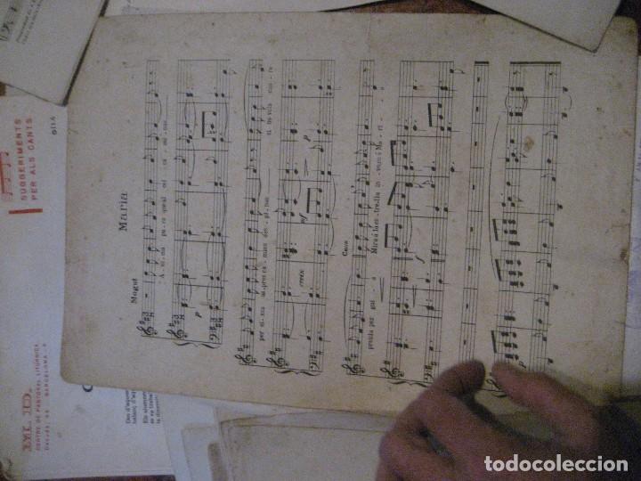 Partituras musicales: gran lote antiguas partituras musica sacra religiosa . lauda sion emporium . foment pietat - Foto 61 - 220858513