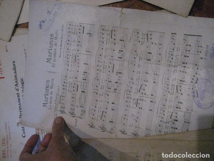 Partituras musicales: gran lote antiguas partituras musica sacra religiosa . lauda sion emporium . foment pietat - Foto 62 - 220858513