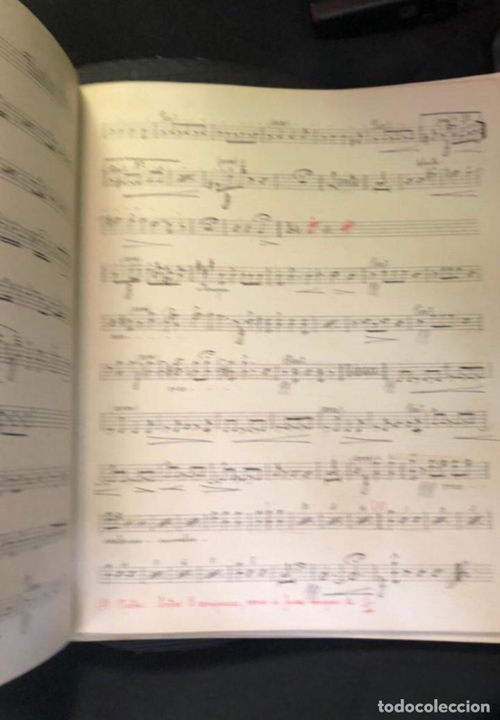 Partituras musicales: libros de partituras originales de angel peñalva tellez musico mayor del 51 regimiento infanteria - Foto 4 - 221748717