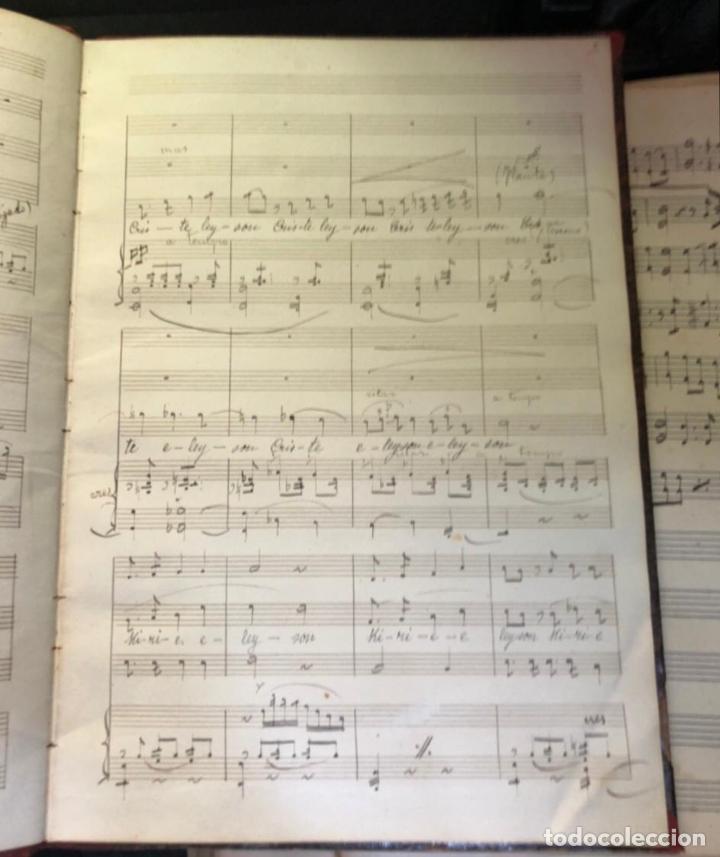 Partituras musicales: libros de partituras originales de angel peñalva tellez musico mayor del 51 regimiento infanteria - Foto 8 - 221748717