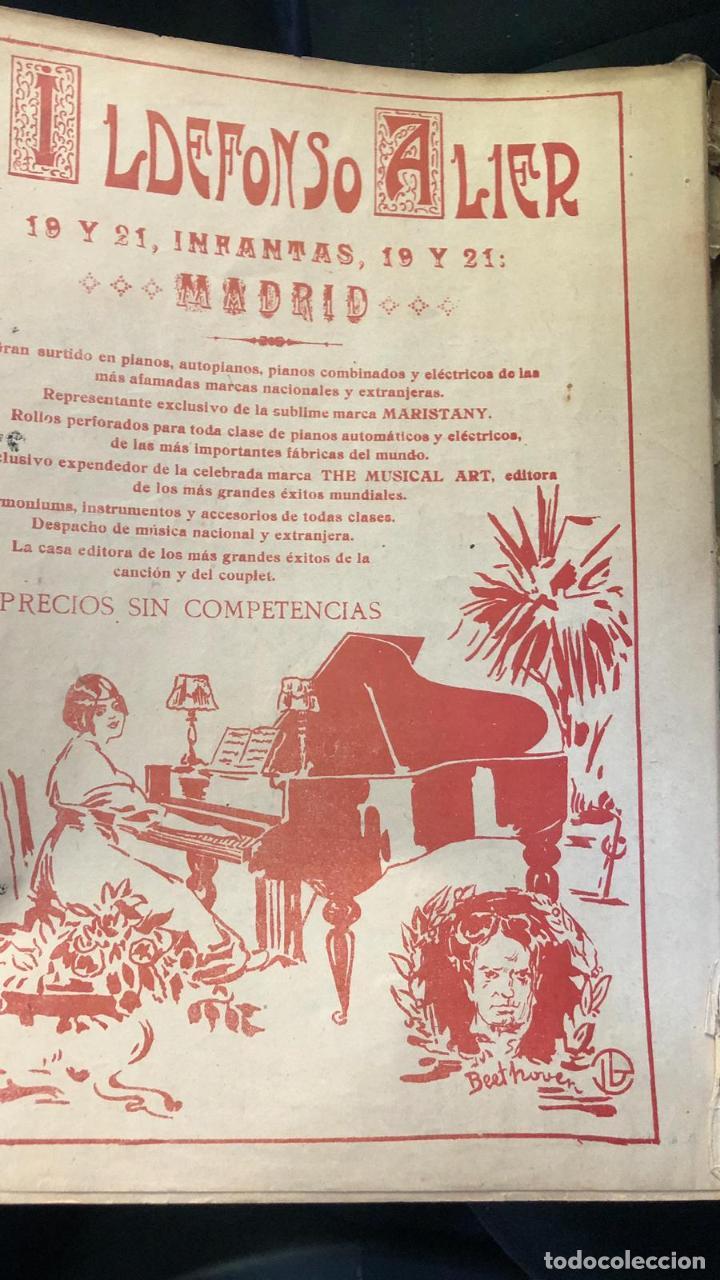 Partituras musicales: libros de partituras originales de angel peñalva tellez musico mayor del 51 regimiento infanteria - Foto 13 - 221748717