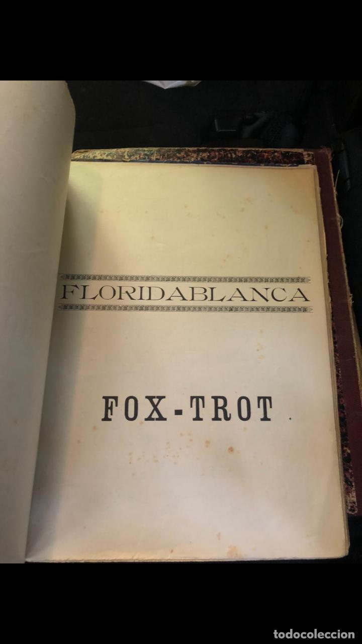 Partituras musicales: libros de partituras originales de angel peñalva tellez musico mayor del 51 regimiento infanteria - Foto 15 - 221748717