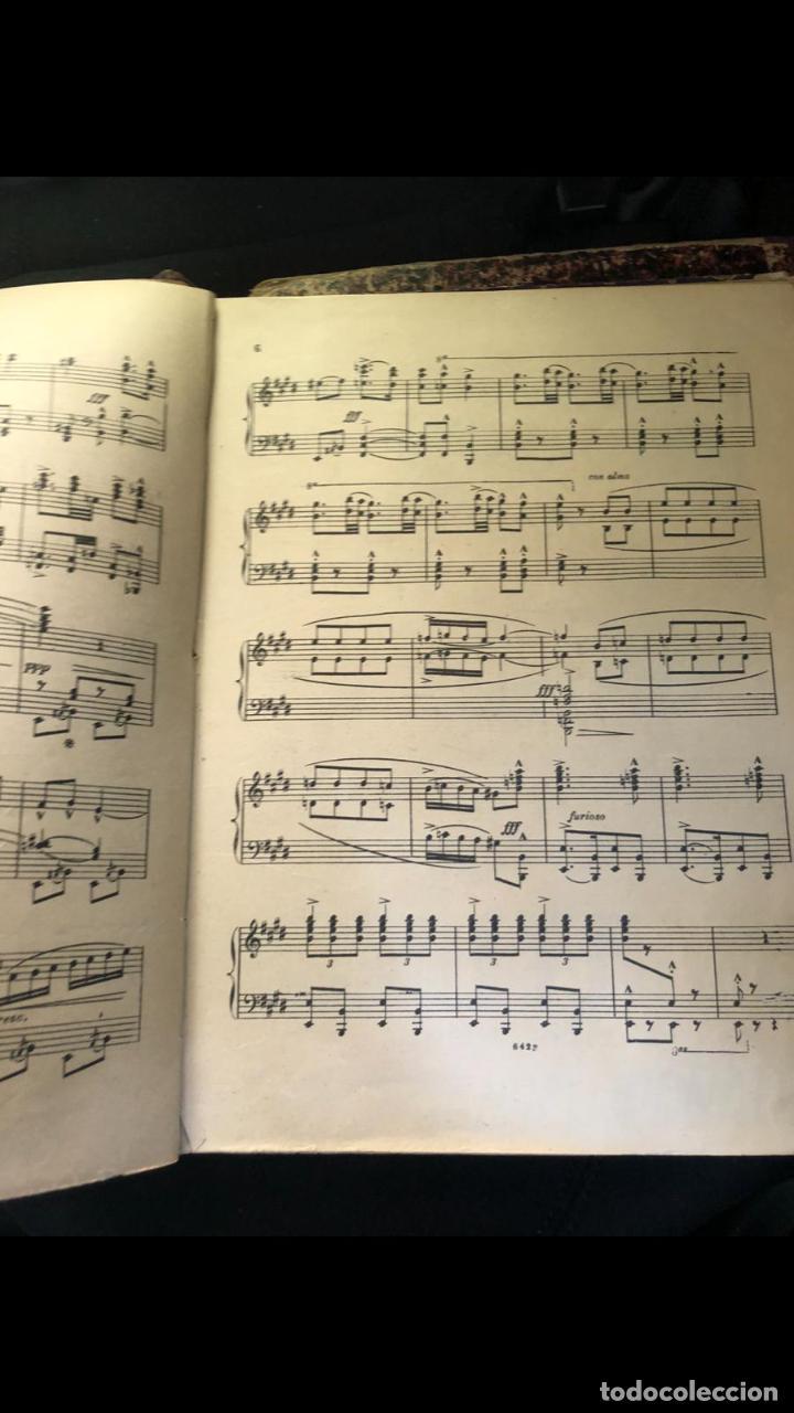 Partituras musicales: libros de partituras originales de angel peñalva tellez musico mayor del 51 regimiento infanteria - Foto 19 - 221748717