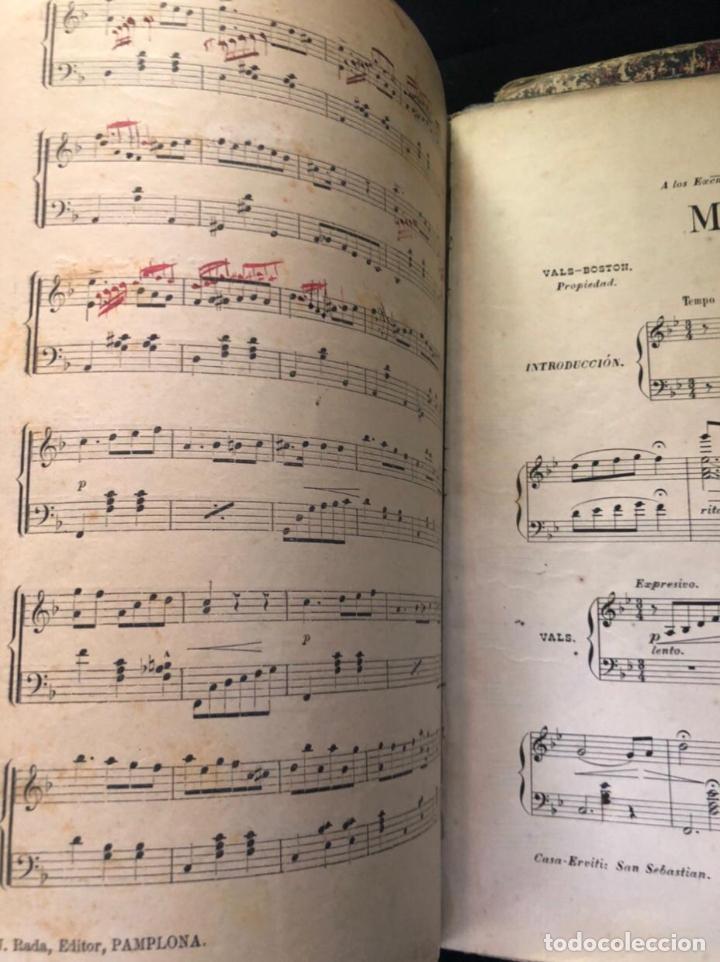 LIBROS DE PARTITURAS ORIGINALES DE ANGEL PEÑALVA TELLEZ MUSICO MAYOR DEL 51 REGIMIENTO INFANTERIA (Música - Partituras Musicales Antiguas)